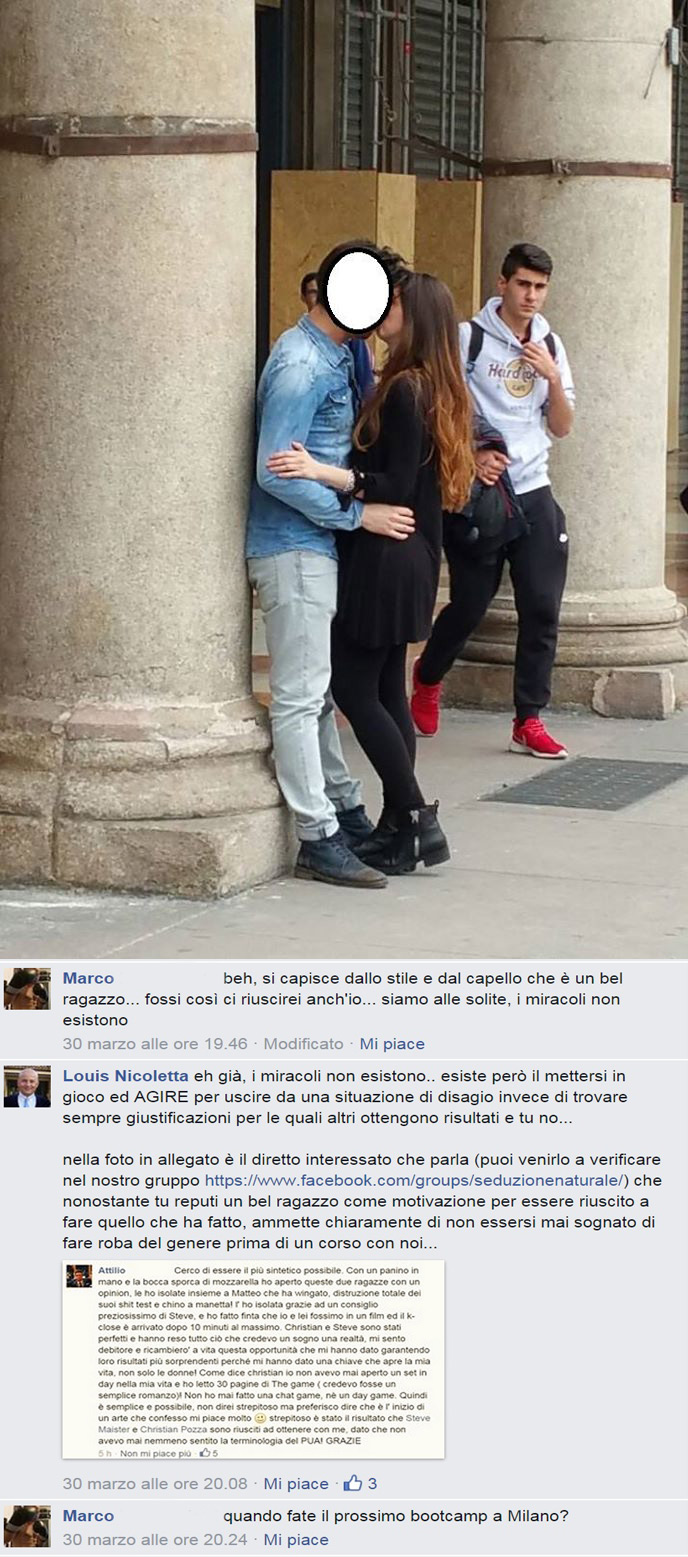 K-close studente Steve Maister con commentario dello stesso studente..